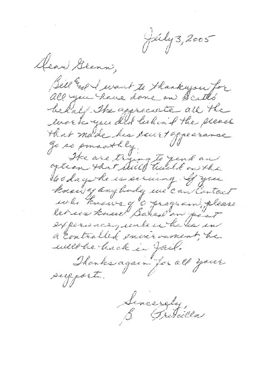 Letter from B. Parmelee